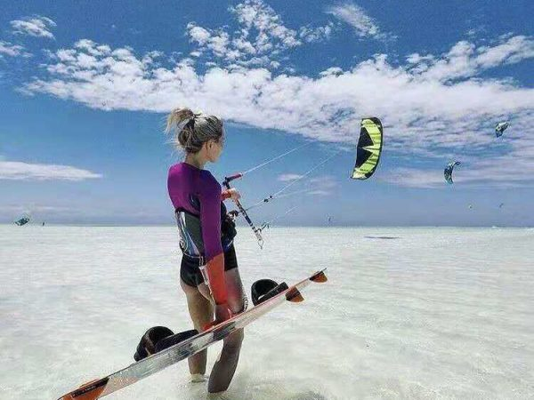What is Kitesurfing